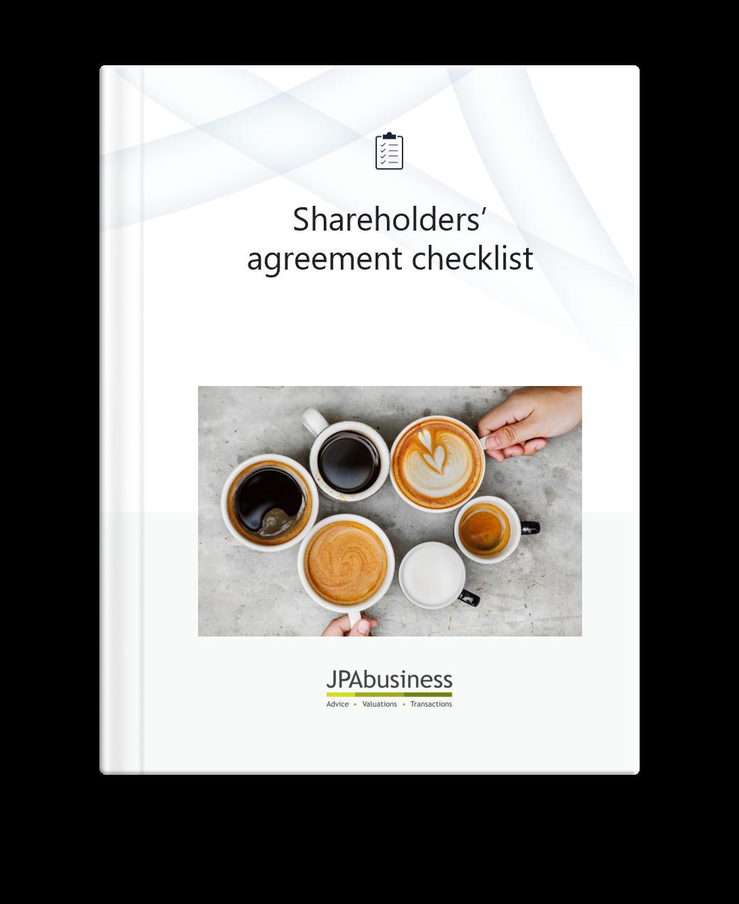 Shareholder's Agreement Checklist | JPAbusiness