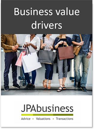 Business value drivers ebook cover
