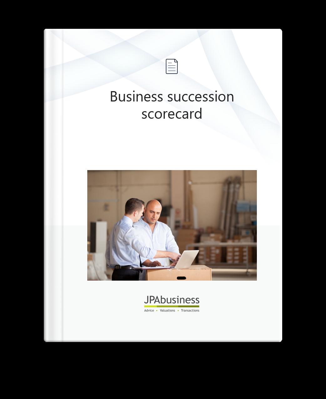 Business Succession Scorecard | JPAbusiness