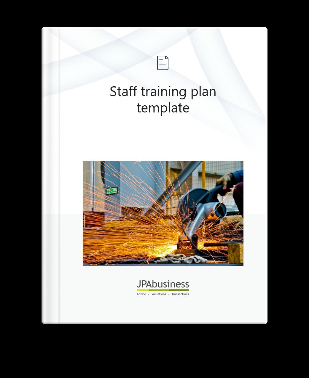 staff training template