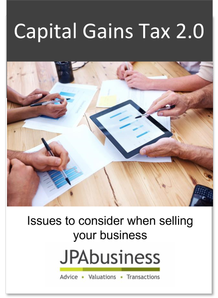 Capital Gains Tax 2.0 - Issues to consider when selling your business