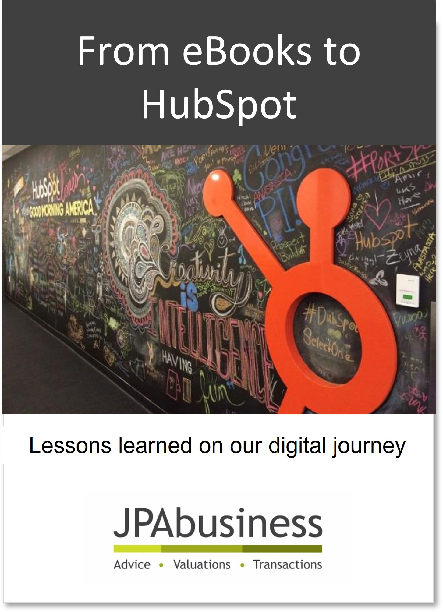 From eBooks to HubSpot | JPAbusiness