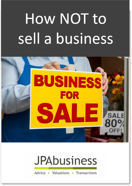How NOT to sell a business [eBook] | JPAbusiness
