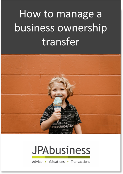 How to manage business ownership transfer