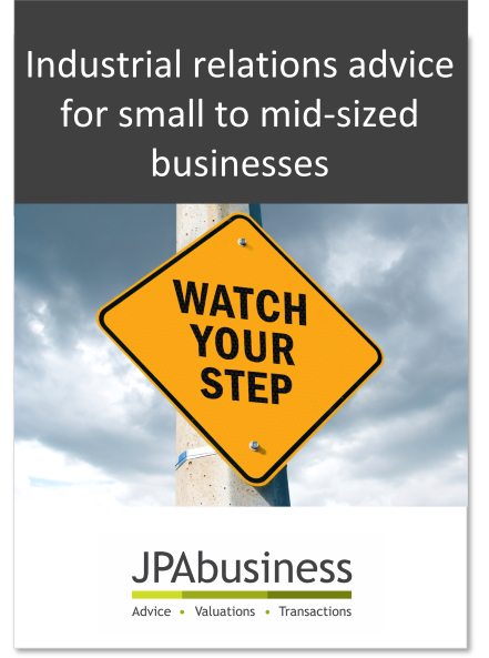 IR Advice eBook from JPAbusiness
