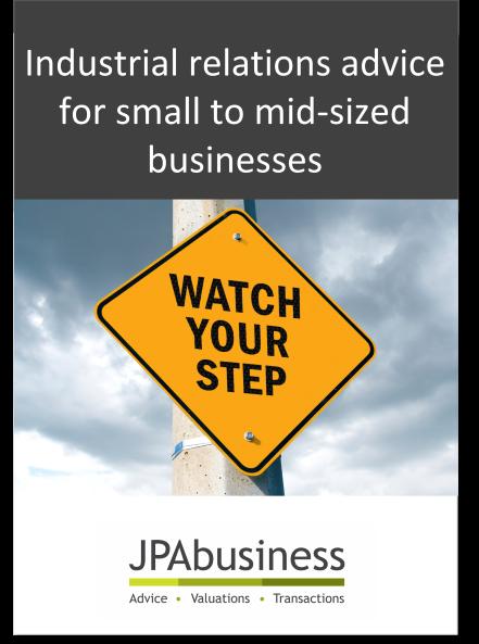 IR Advice eBook from JPAbusiness
