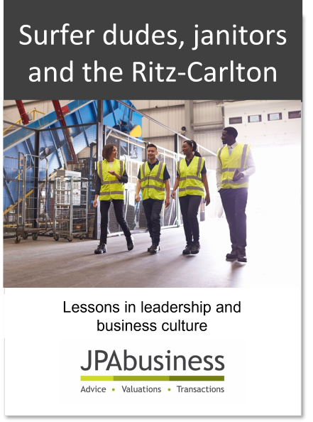Lessons in leadership and culture | JPAbusiness